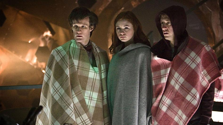 The TARDIS comes equipped with blankets for when you visit winter.